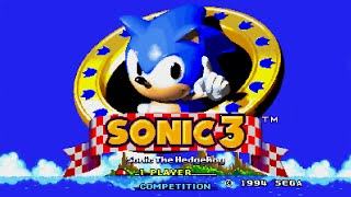 Sonic The Hedgehog 3 Sega Genesis No Commentary