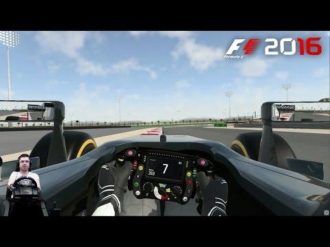 Гран-при Бахрейна 2016 квалификация McLaren-Honda Formula 1 Team - F1 2016 на руле Logitech G920