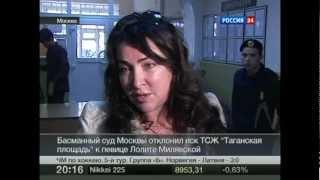 Московский суд отклонил иск ТСЖ к Лолите Милявской