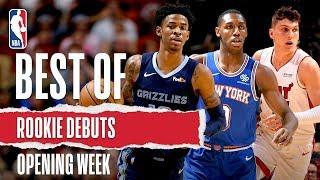 2019 Draft Class Make NBA Debuts | Ja Morant, RJ Barrett, Tyler Herro & More