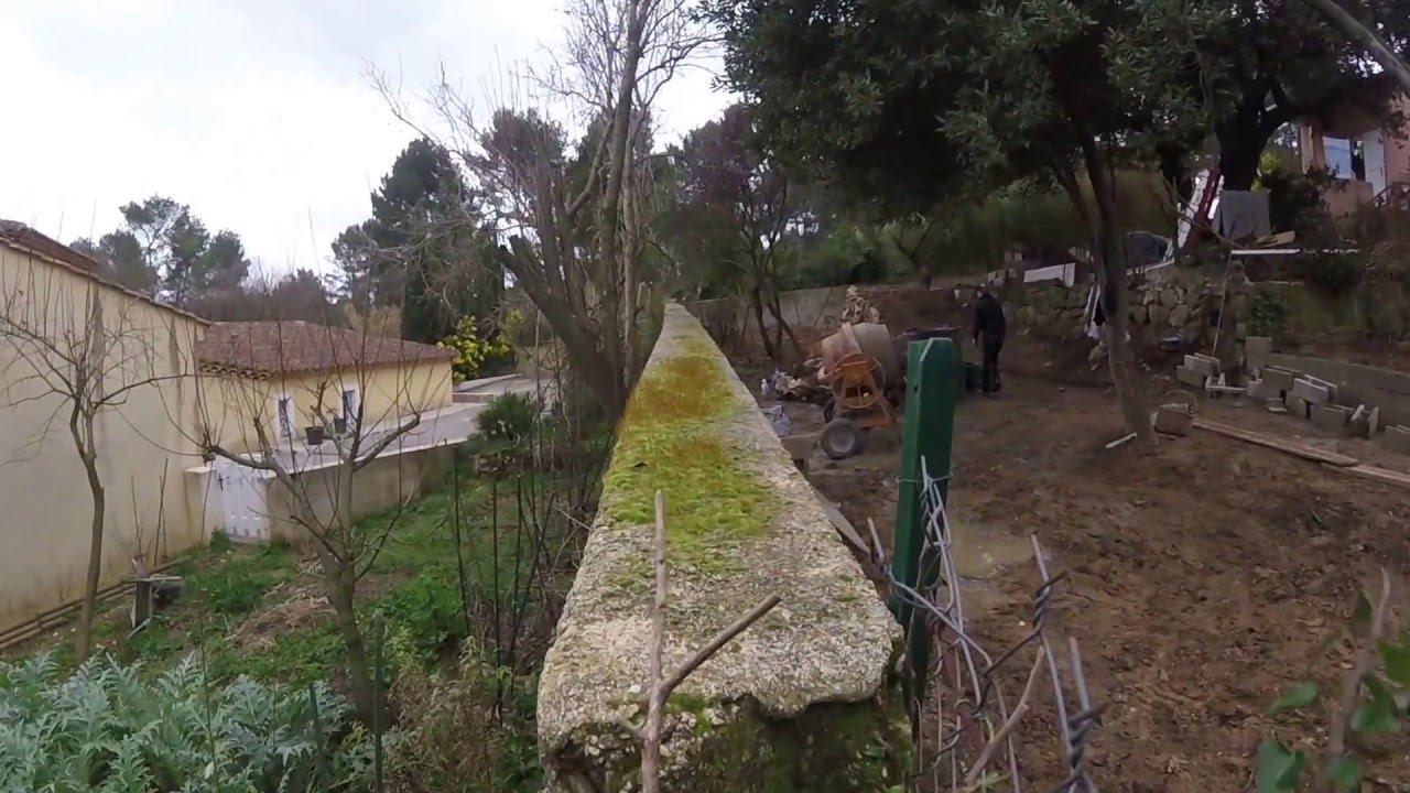Constructeur De Maison Marseille video 7 suite chantier renovation complete maison a marseille partie  terrassement avec travauxlution