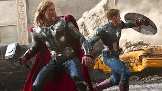 Мстители - Капитан Америка и Тор! (HD) 1080p