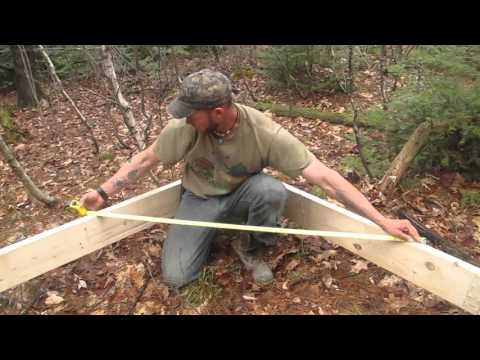 Wall tent platform build doovi for Tent platform construction