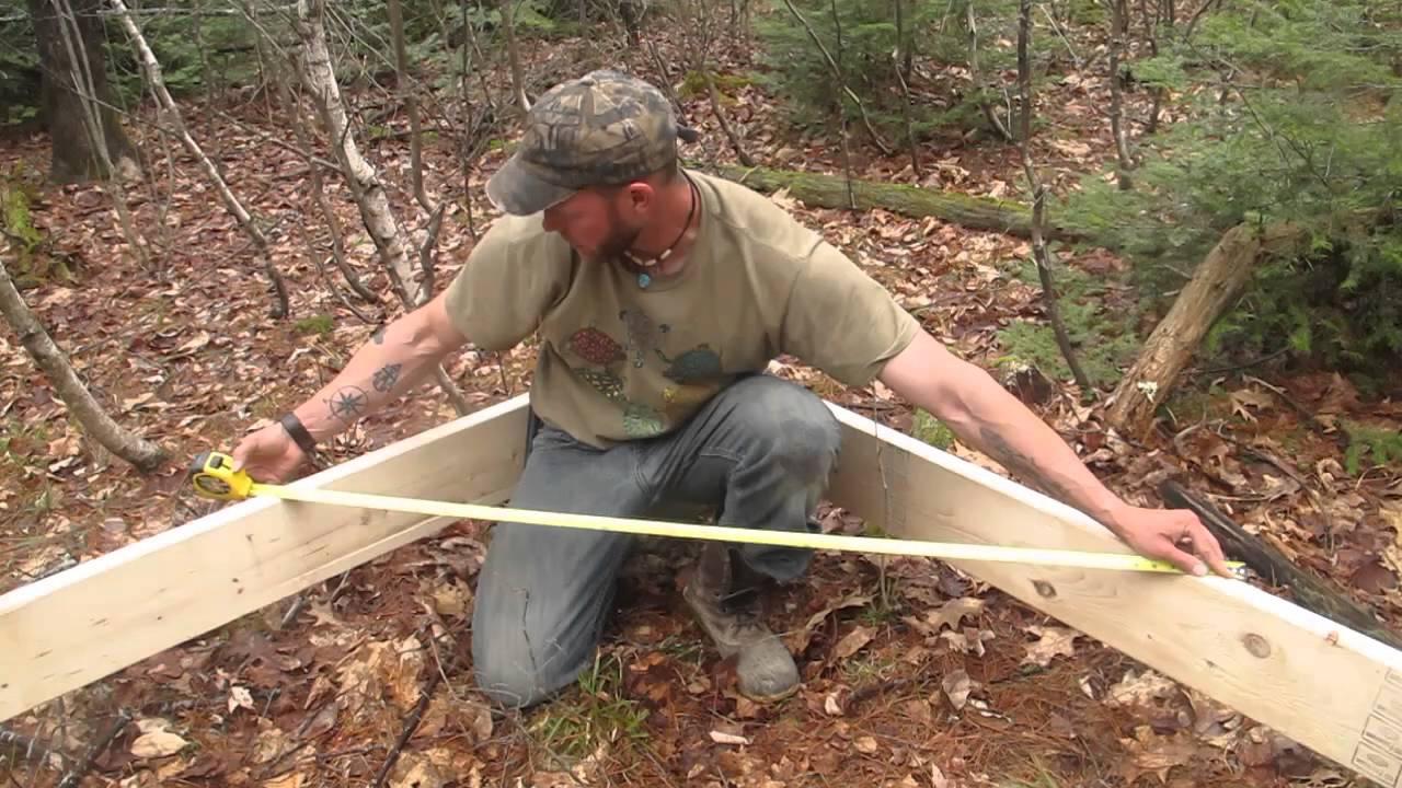 Building a Tent Platform & Building a Tent Platform - YouTube