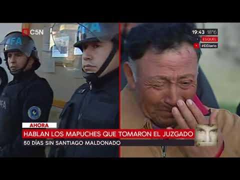 50 días sin Santiago Maldonado: Recusaciones y toma del juzgado