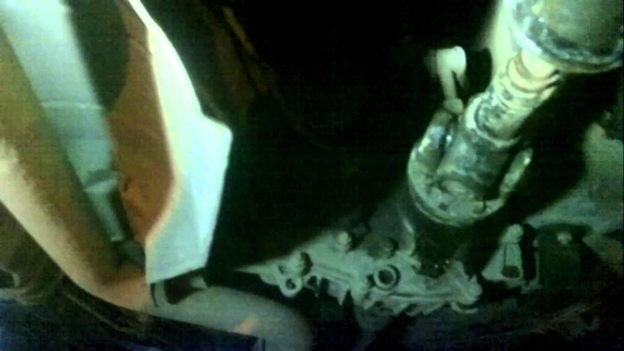 Шевролет Нива Лювт в переднем мосту
