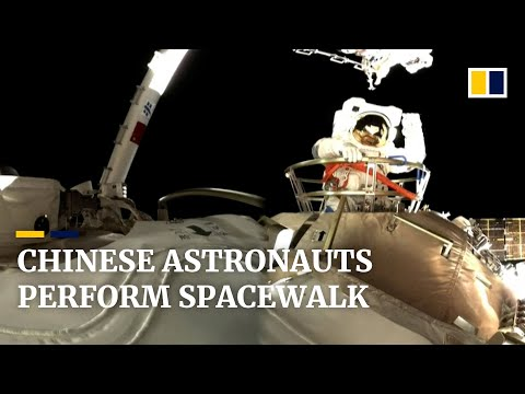 Chinese astronauts carry out country's second spacewalk