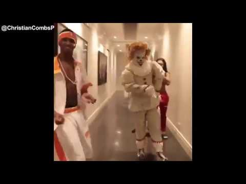 Christian Combs UPROAR CHALLENGE HALLOWEEN EDITION With Justin Combs And Diddy. #UPROARCHALLENGE