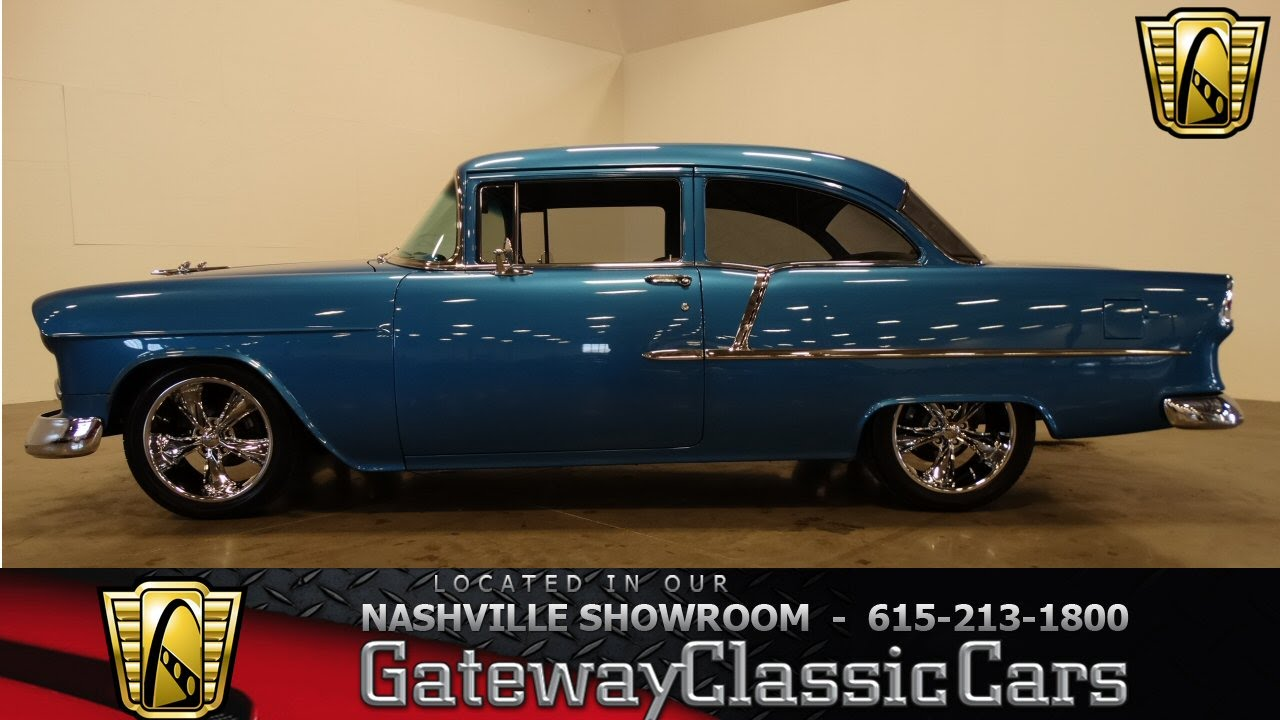 1955 chevrolet 210 gateway classic cars of nashville 164 youtube. Black Bedroom Furniture Sets. Home Design Ideas
