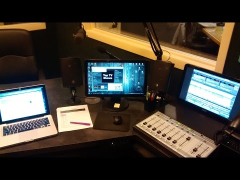 Radio Station Studio D tour with iAnthuny