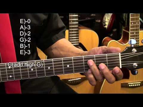 Kelly Clarkson Breakaway Guitar Chord Shapes Tutorial TABS #251