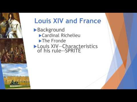 Key Concept 2 1 Review Part I  Absolutism in France and Russia