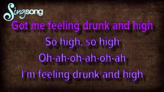 Hymn For The Weekend Karaoke No Vocal