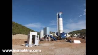 ins makina kuru tip portatif beton santrali   Dry type concrete batching plants