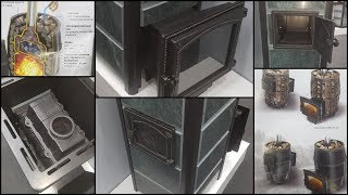 Печь Везувий Сандуны в облицовке. Обзор удачного прототипа: двойной чугун + классное название = хит!