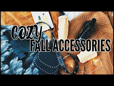 Fall Accessories Haul | BOOKS, CANDLES, SCARVES