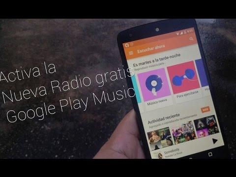 Activa la nueva radio de Google Play Music fuera de USA