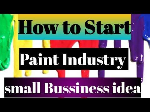 How to Start A Acrylic Paint Industry || ऐक्रेलिक पेंट उद्योग कैसे शुरू करें I|
