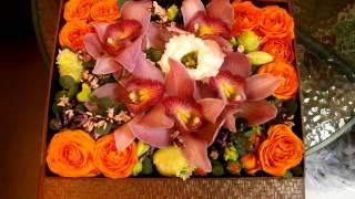 как сделать букет из орхидеи
