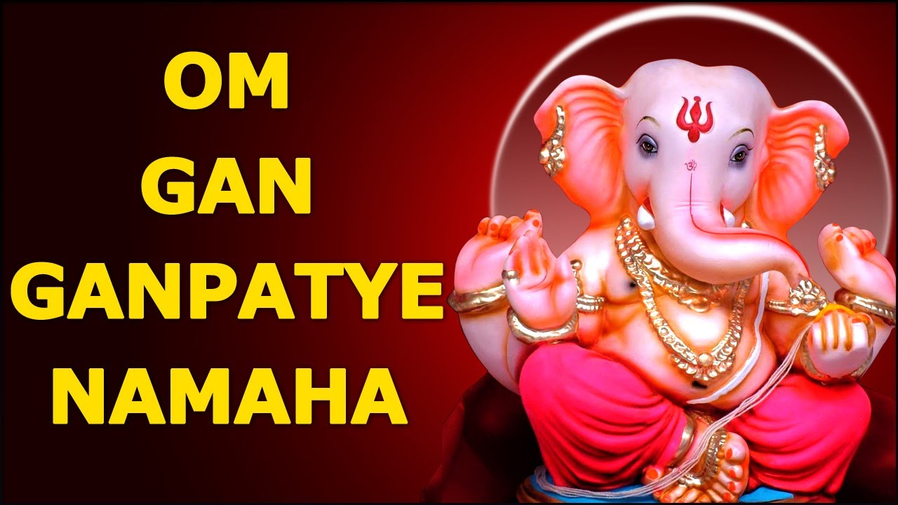 Image result for om gan ganpataye namah