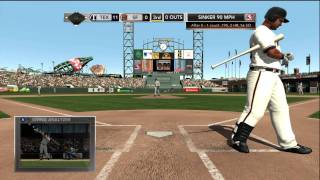 MLB 2K11 Demo Gameplay Xbox 360 HD 720p