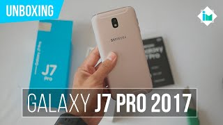 Samsung Galaxy J7 Pro 2017 - Unboxing en español
