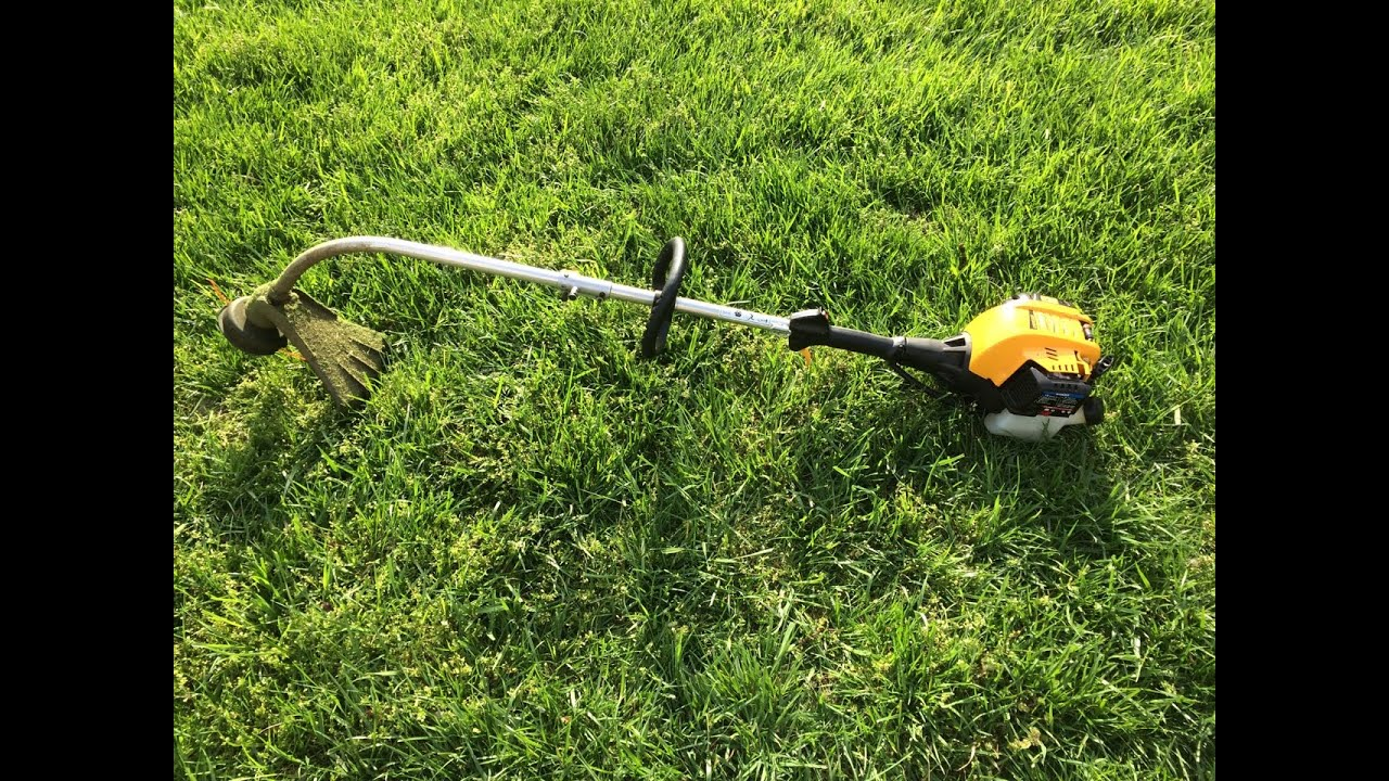 Cub Cadet Model Cc330 30cc 4 Cycle 17 Weed Trimmer Start Up April 2017