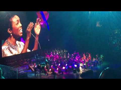 Andrea Bocelli - Heather Headley - Over The Rainbow - New York - 12/13/17