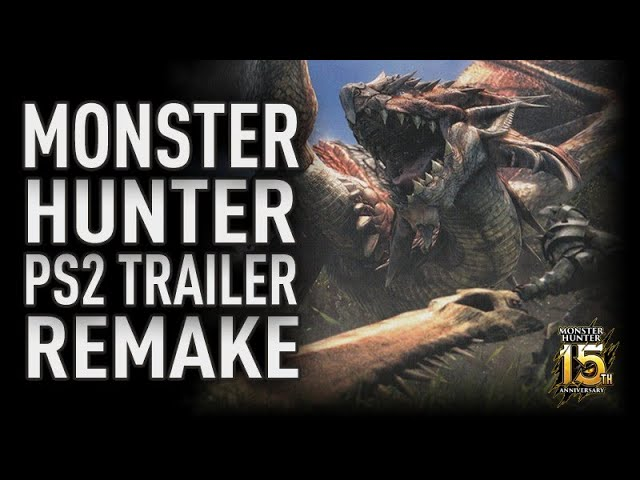 Monster Hunter : Remake du Trailer PS2
