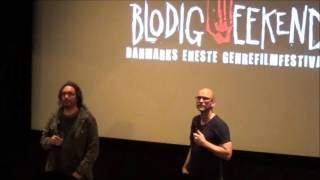 The Corpse of Anna Fritz intro + Q&A by Hèctor H. Vicens at Blodig Weekend, Copenhagen 2015