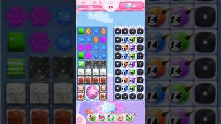 Candy crush saga level 1384 hard level No Booster