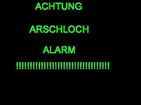 Arschloch alarm  🎉 276 German Swear Words, Slang, Phrases, Curses