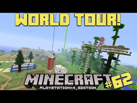 Minecraft PS4 | 100% SURVIVAL WORLD TOUR!