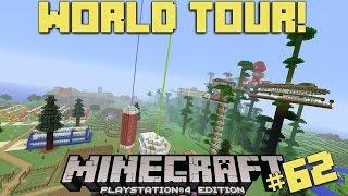 Minecraft PS4 | 100% SURVIVAL WORLD TOUR!