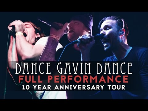 Dance Gavin Dance - FULL SET #4 LIVE! (feat. Jonny Craig & Kurt Travis) 10 Year Anniversary Tour