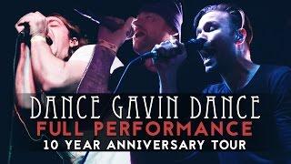dance gavin dance - full set #4 live! (feat. jonny craig - kurt travis) 10 year anniversary tour