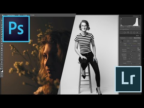 Editing the Photos from Our Live Studio Shoot!
