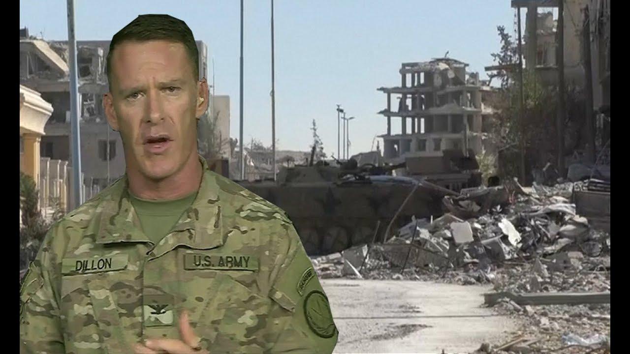 Ninety percent of Raqqa retaken from Islamic State, says US military