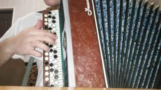 Видео урок на плясовую(на баяне)