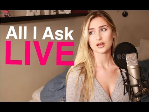 Adele - All I Ask (LIVE cover by Victoria K)
