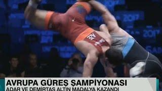Milli Güreşçimiz Azeri Güreşçiyi Uçurdu- Uçan Azeri