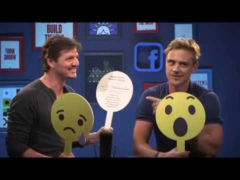 Boyd Holbrook & Pedro Pascal very funny !