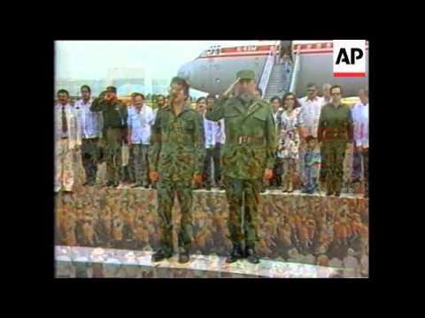Castro in Tanzania, Inauguration of Daniel Ortega, Cuba: Politics