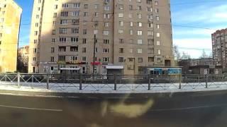 Автошкола, курица за рулём протаранила все что можно было(, 2016-03-11T08:40:48.000Z)