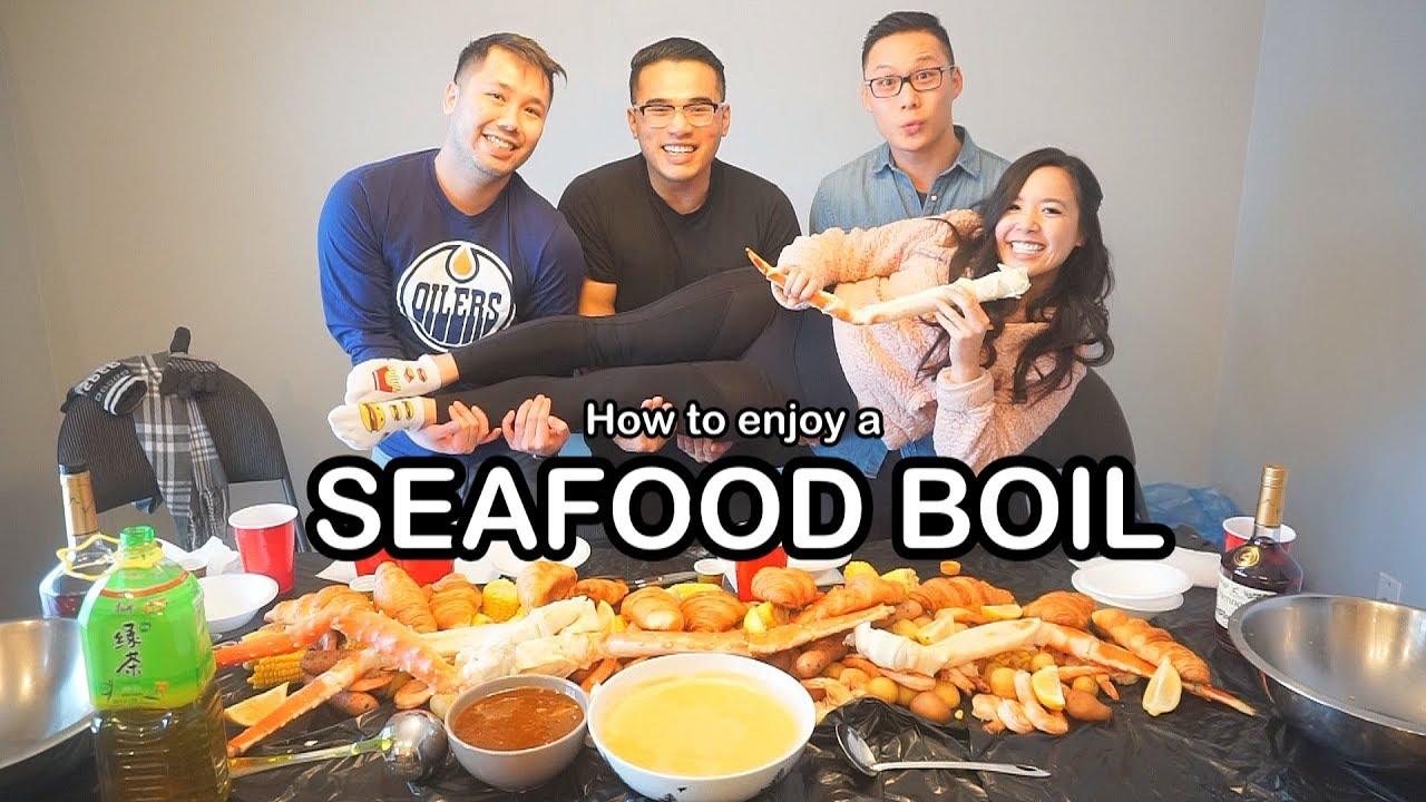 Fruncle Friend Funcle: NEW YEAR SEAFOOD BOIL W/ FRIENDS