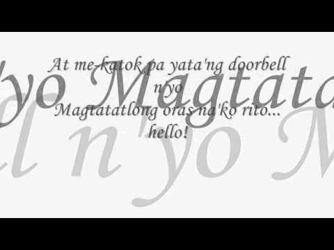 kung ayaw mo huwag mo lyrics