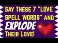 Love spell vs Lust spell