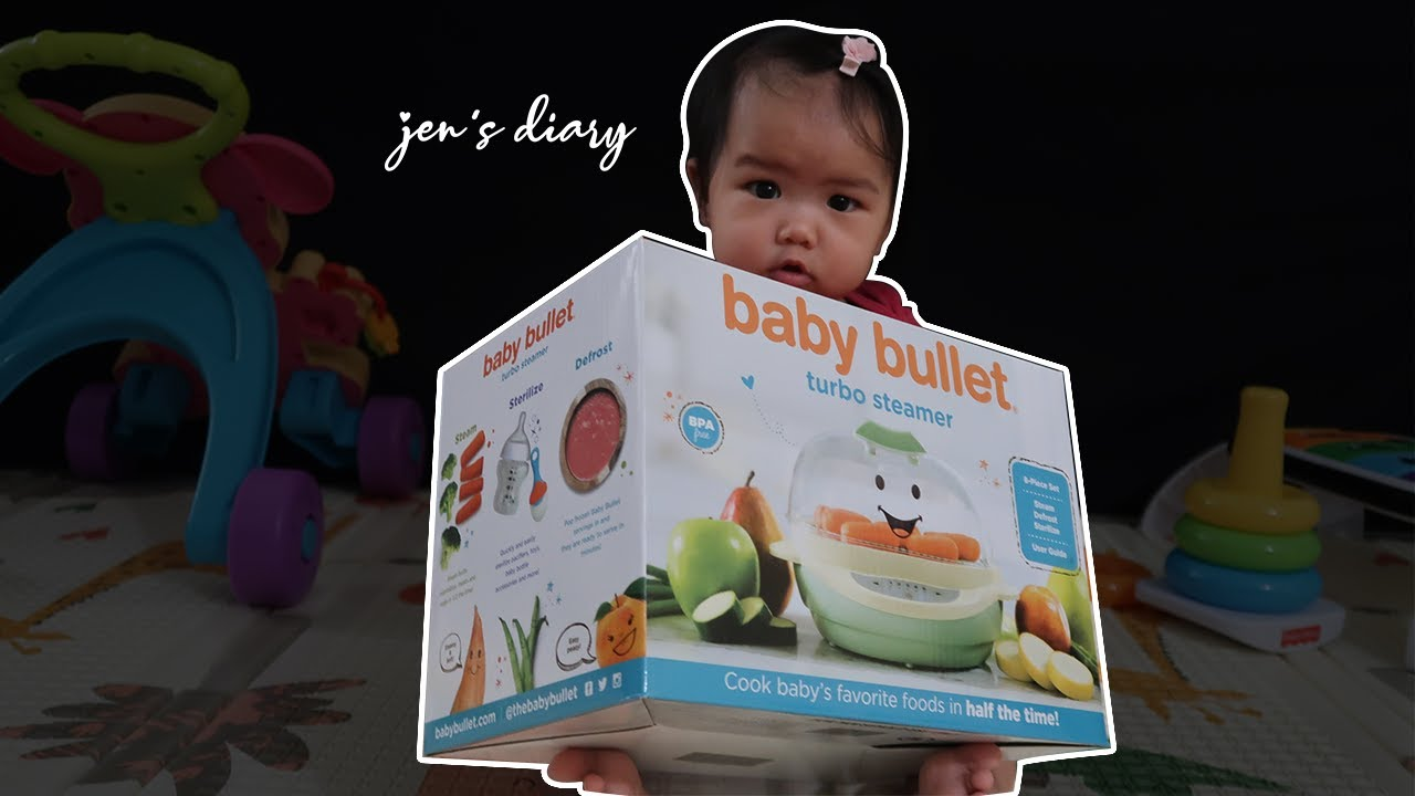 Baby Bullet Turbo Steamer Unboxing