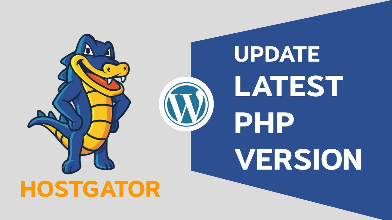 HOW TO UPDATE PHP VERSION USING HOSTGATOR CPANEL - PHP VERSION 5.6 TO 7.1 - HOSTGATOR