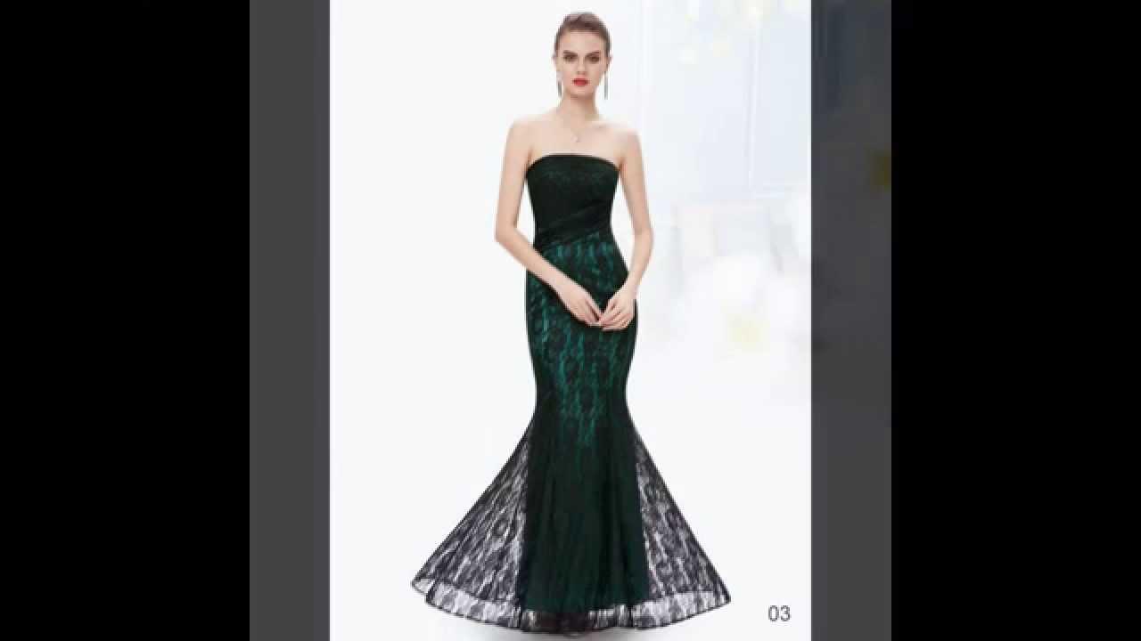 Abendkleid / Meerjungfrau Bustier Kleid - günstige ...
